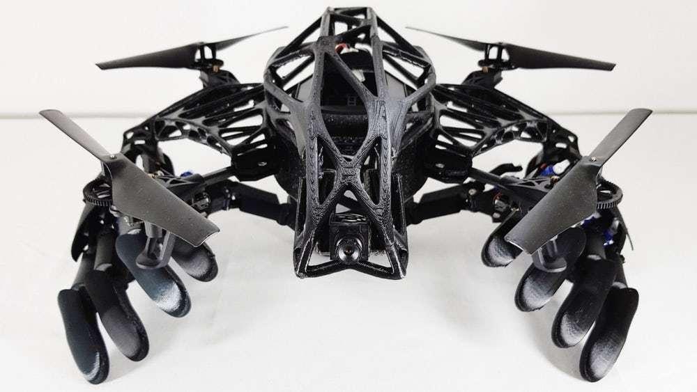 У США створили дрон із біонічними руками