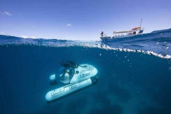 Uber запустив в Австралії «підводне таксі»