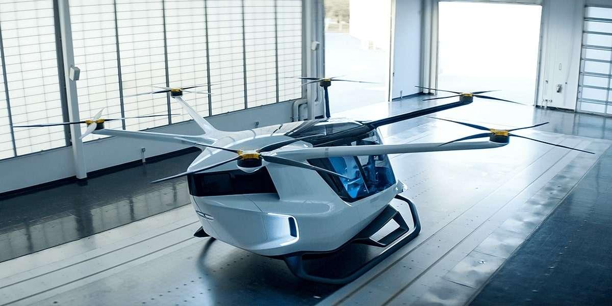 У США створили летюче таксі, що працює на водні