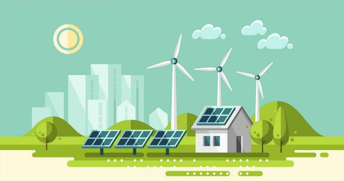Екологічно чиста енергетика в схемах