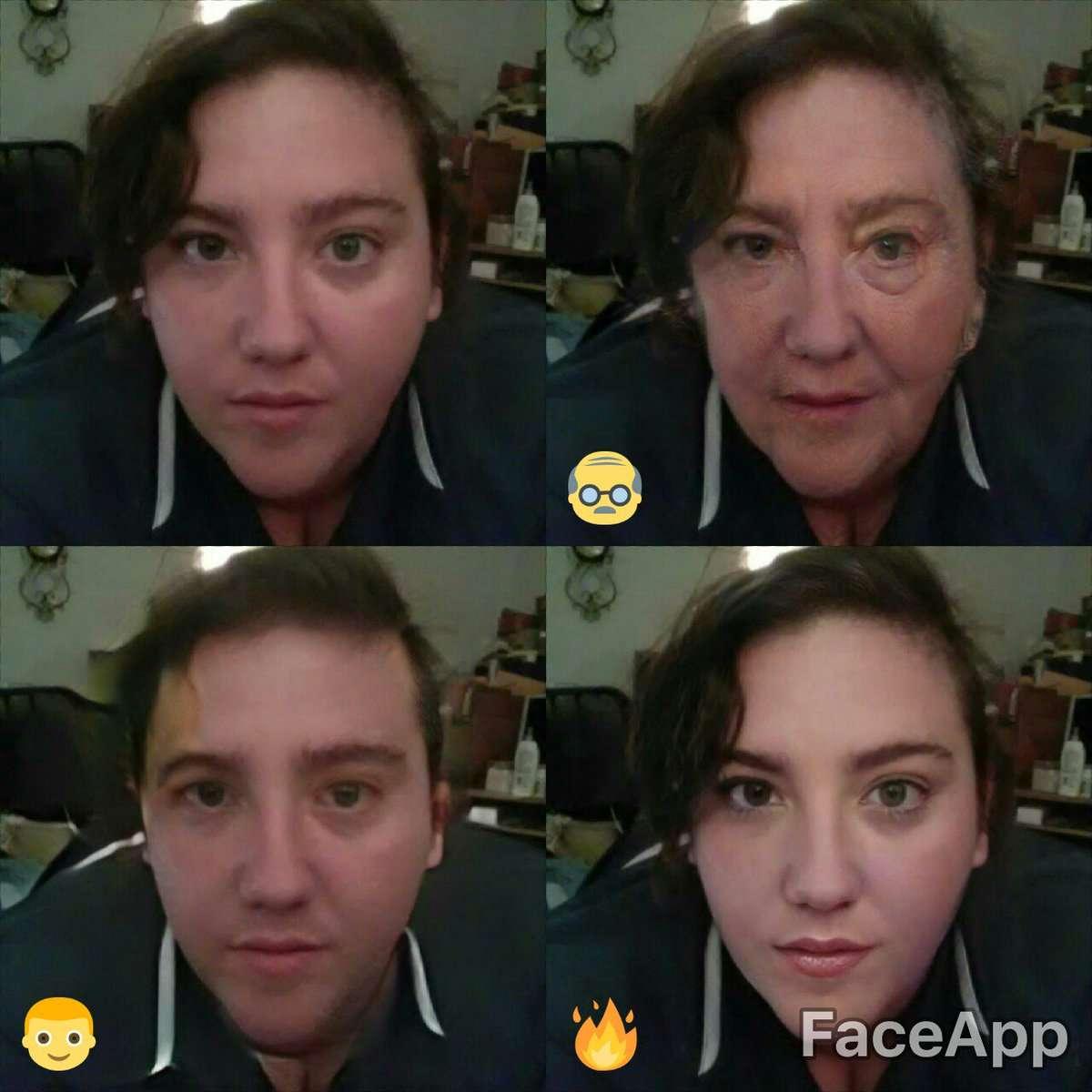 FaceApp додає років, міняє стать або робить обличчя привабливішим.