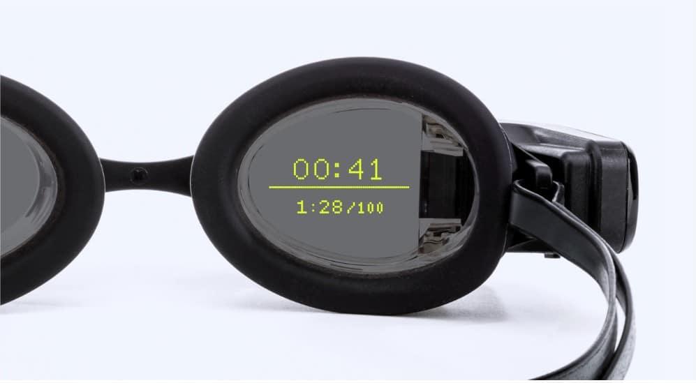 Смарт-окуляри допоможуть плавцям бачити швидкість під час запливу