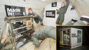 Технології Космічний 3D принтер (відео) 3d embed-video відео космос