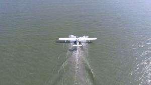 Технології У Китаї вдало посадили на воду безпілотний поштовий гідродрон дрон кнр новина у світі