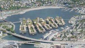 Життя Посеред норвезького озера побудують житловий район на 1,5 тис. будинків Будівництво екологія новина норвегія у світі