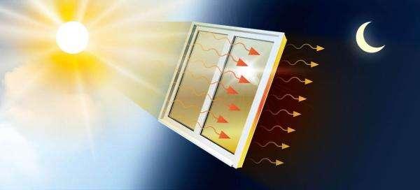 Нова плівка для вікон нагрівається від сонця і до восьми годин обігріває кімнату