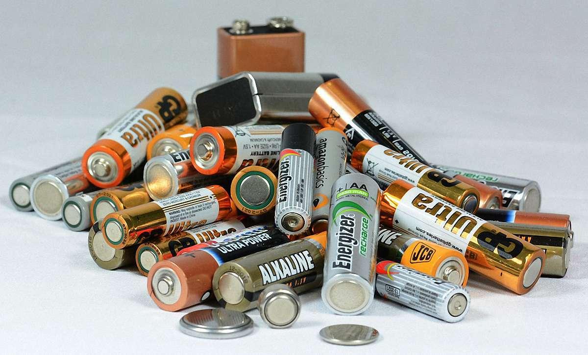 сортування акумуляторів