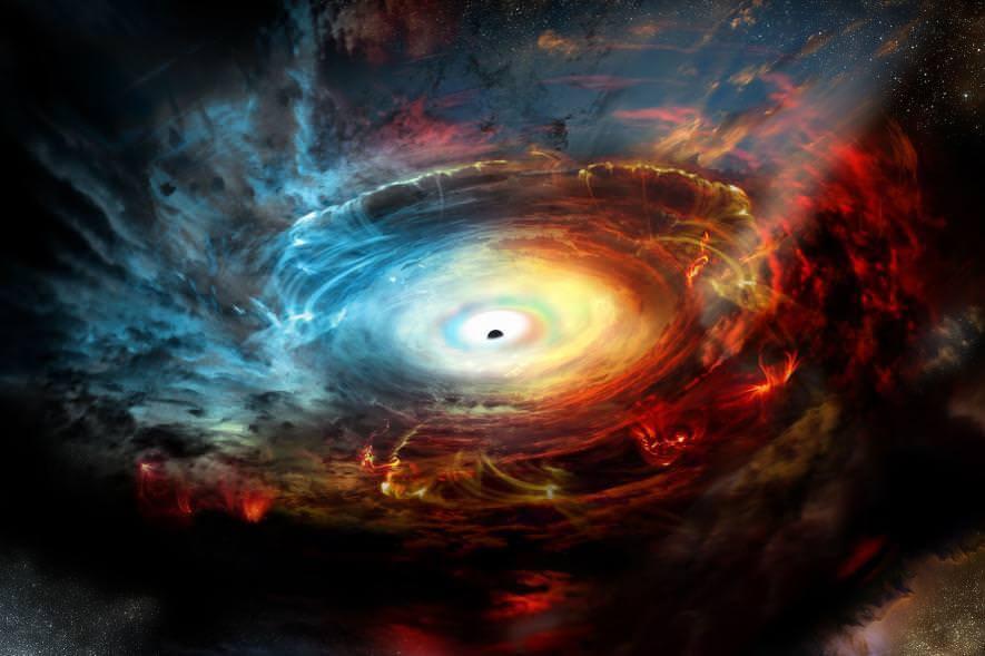 Чорна діра в центрі Чумацького Шляху стала яскравішою в 75 разів