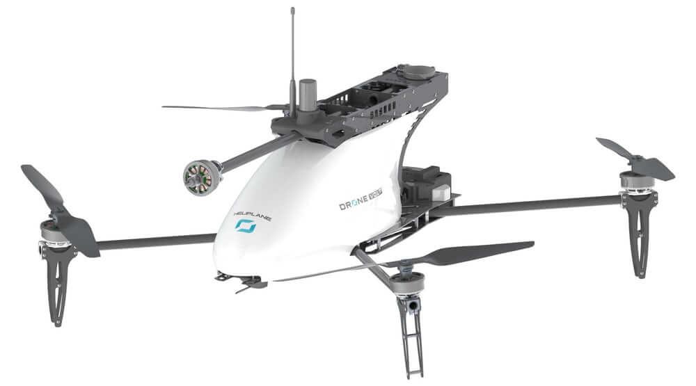 Коптер Drone Volt. Більше крил – довший політ