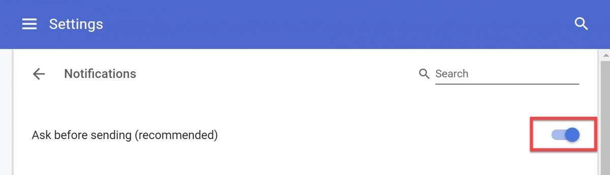 Як вимкнути сповіщення в Google Chrome