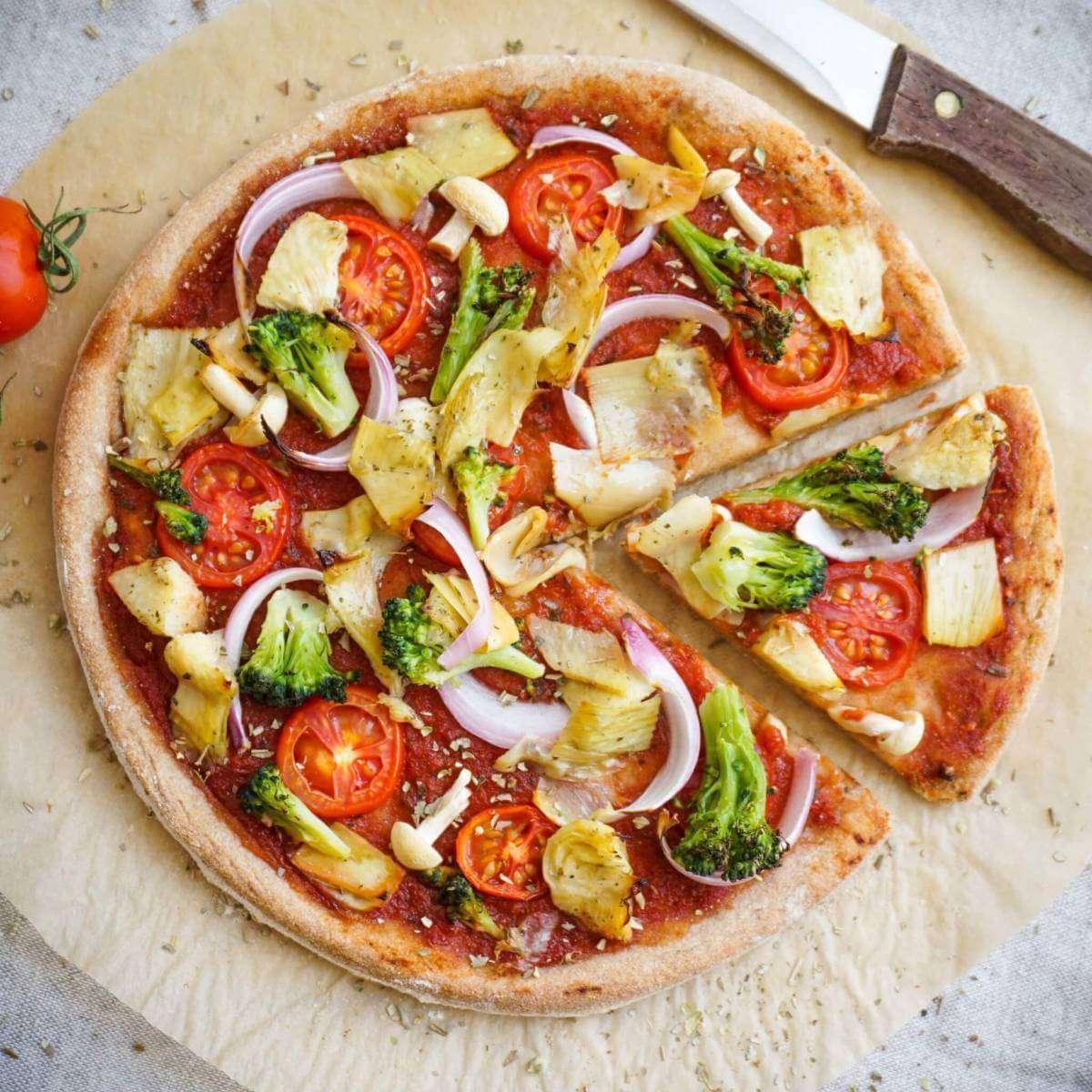 Піца без м'яса