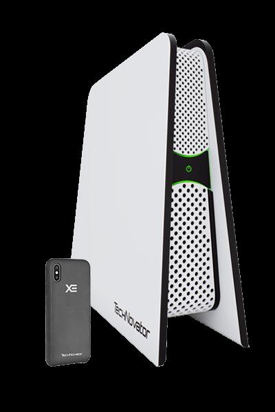 Безпровідна зарядка XE: базова станція і чохол для зарядки