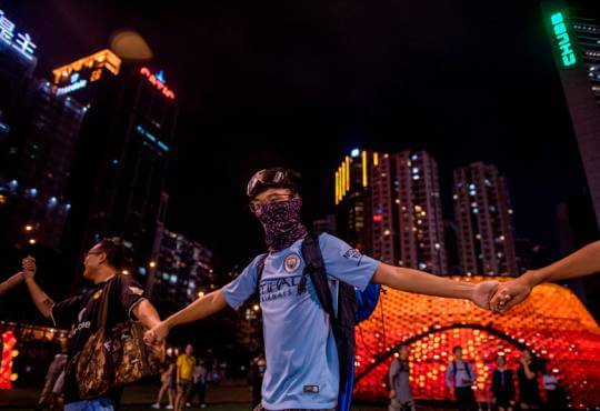 Життя Гонконг як камінь спотикання безпека Гонконг кнр протести стаття у світі