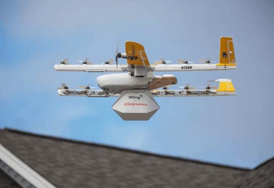 Технології У США запрацював перший комерційний сервіс доставлення товарів дронами дрон новина сша