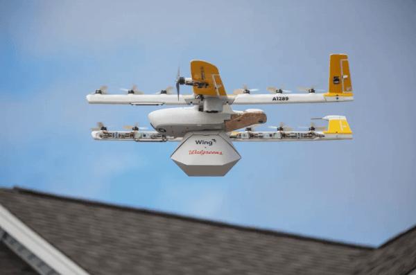 В США запрацював перший комерційний сервіс доставлення товарів дронами