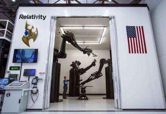 Технології Компанія Relativity Space друкує ракети на 3D принтері космос новина сша у світі