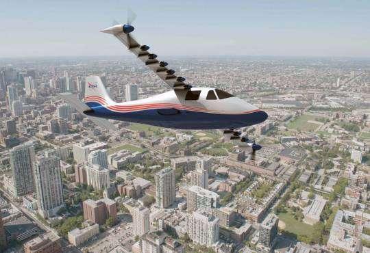 Технології NASA випробовує перший у світі електричний літак nasa екологія новина транспорт у світі