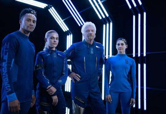 Технології Дизайн одягу для космічних туристів Virgin Galactic Дизайн космос новина у світі