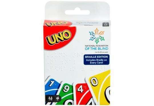 Життя UNO Braille – варіант відомої карткової гри для людей з вадами зору Ігри інклюзія новина у світі