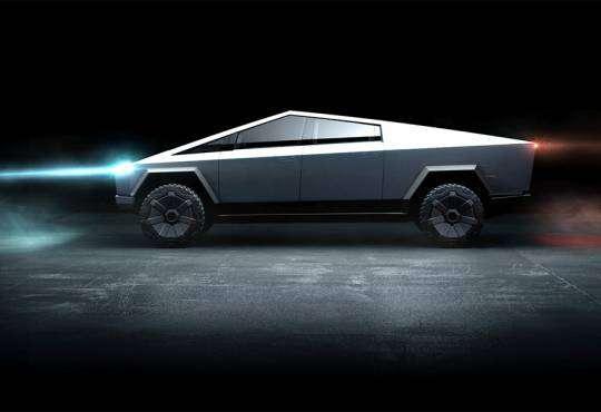 Технології Куленепробивна електровантажівка Tesla Cybertruck — що про неї відомо? cybertruck tesla електротранспорт ілон маск новина сша транспорт