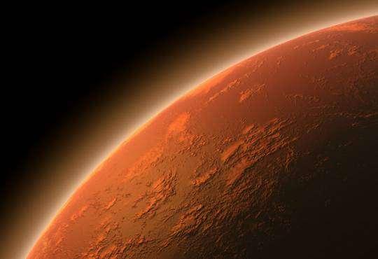 Технології Науковці показали як утворюються хмари на Марсі nasa дослідження космос марс наука планета