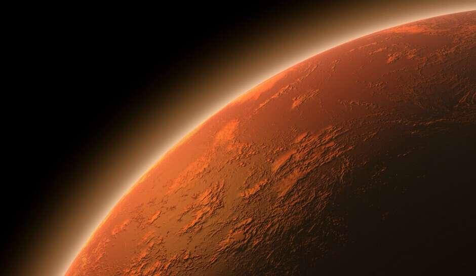 Науковці показали як утворюються хмари на Марсі