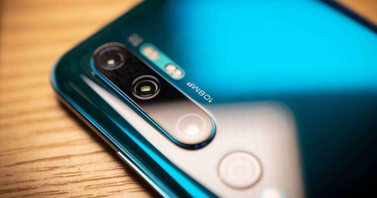Камери в Xiaomi Mi Note 10