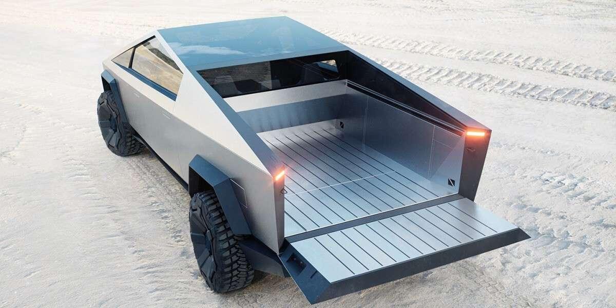 Tesla Cybertruck з відкритим кузовом