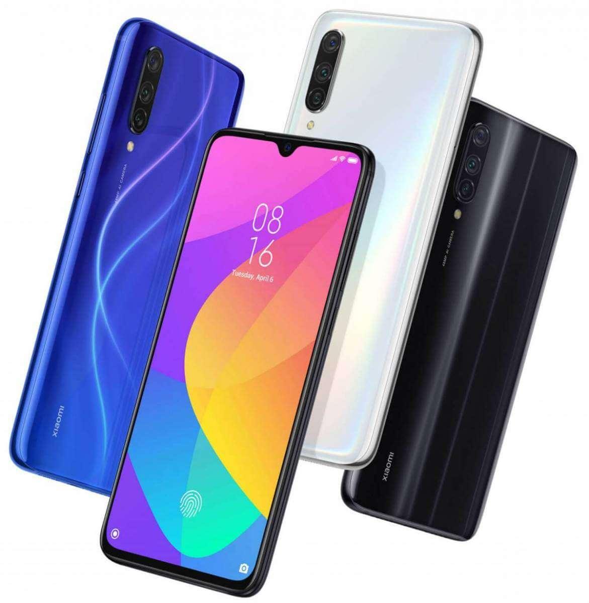Варіанти кольорів корпусу Xiaomi Mi 9 Lite