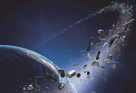 Технології Людство вперше в історії почне прибирати космічне сміття космос новина роботи у світі
