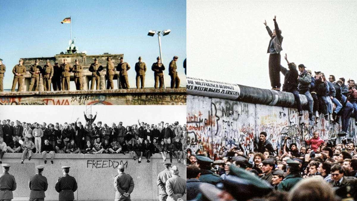 Помилка, яка повалила Берлінську стіну (відео)