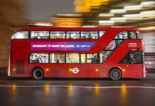 Лондонські електроавтобуси створюватимуть штучний шум під час руху