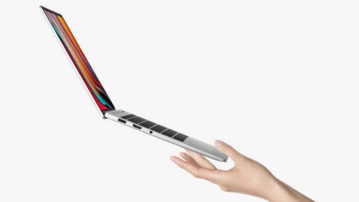 Оцініть товщину Xiaomi RedmiBook 13