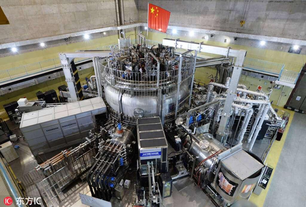 Наступного року в Китаї увімкнуть «штучне сонце» (токамак)