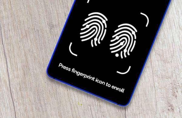 Ультразвуковий зчитувач розпізнаватиме два відбитки пальців одночасно