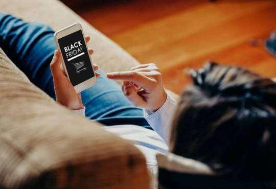 Інтернет 40% покупок у Чорну п'ятницю було зроблено зі смартфонів новина смартфони статистика