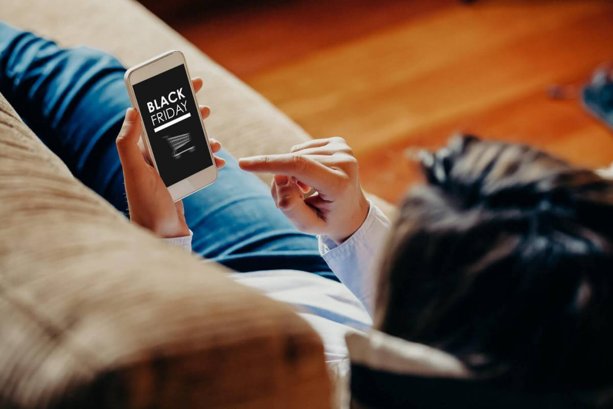 40% покупок у Чорну п'ятницю було зроблено зі смартфонів