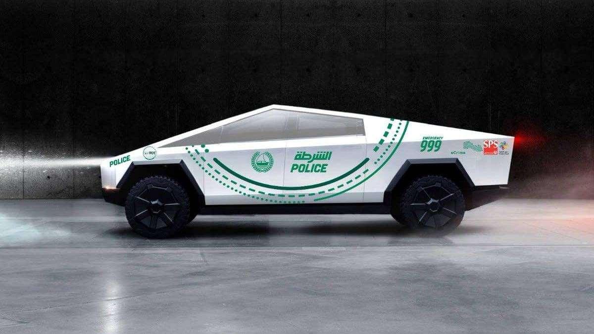 Tesla Cybertruck стане патрульним автомобілем в Дубаї