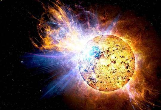Життя Вся правда про вибух зірки-супергіганта Бетельгейзе embed-video відео космос сонце