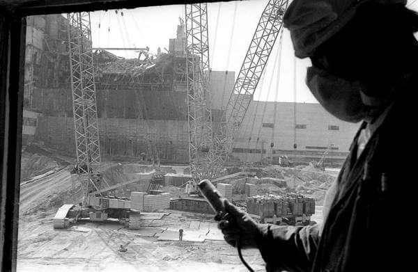 До сталкера: перші роботи Чорнобиля
