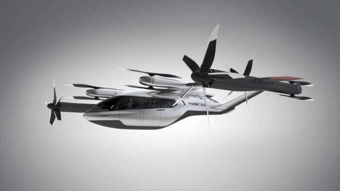 Hyundai + Uber = електричне аеротаксі з майбутнього