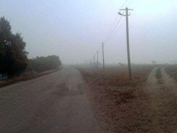 Забруднена атмосфера від торф'яних пожеж (4 вересня 2015, Одещина)