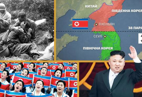 Життя Чому Корея розділена на Північну та Південну (відео) embed-video відео війна історія корея північна корея сша
