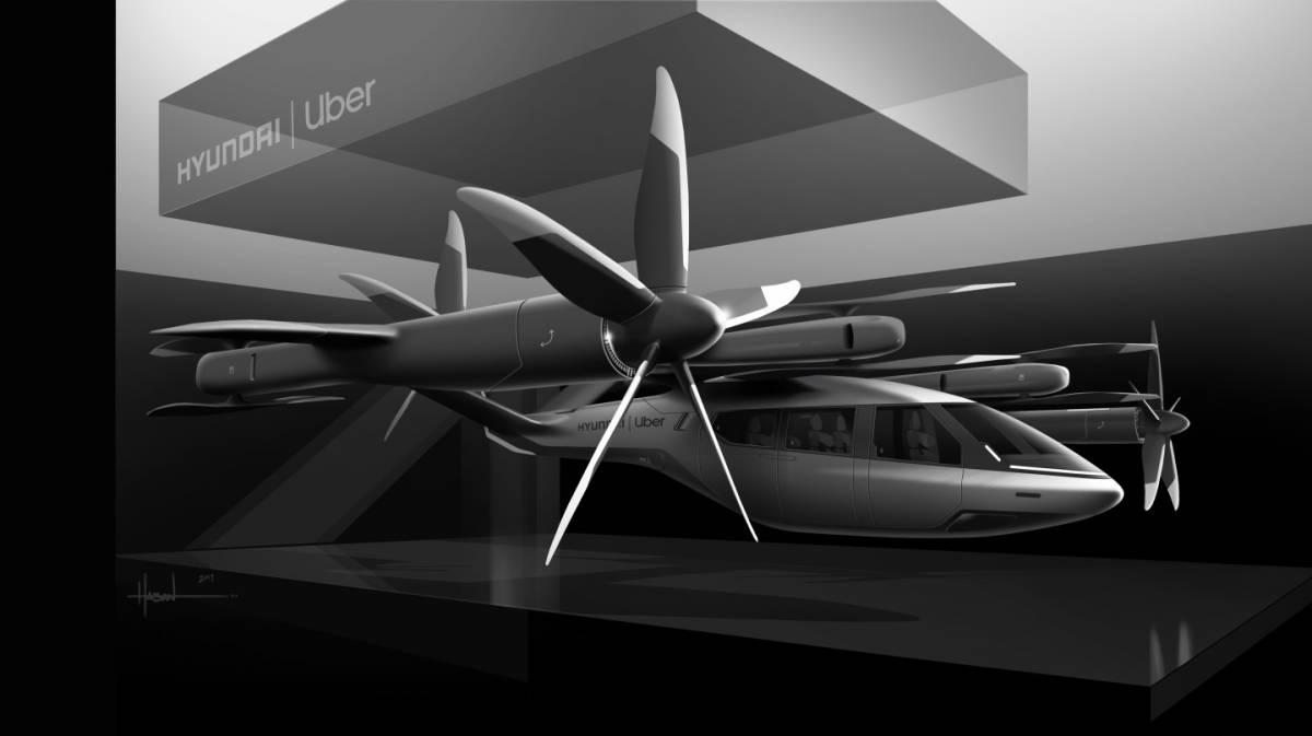 Майбутнє аерокосмічної індустрії від Uber та Hyundai