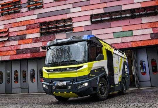 Життя Як виглядає пожежний електрокар за мільйон доларів? електромобіль новина транспорт у світі