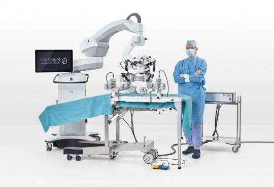 Технології Як працює перший у світі робот для супермікрохірургії медицина стаття