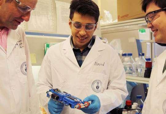 Технології Вчені створили біопринтер, що друкує штучну шкіру на місцях опіків Канада медицина наука новина