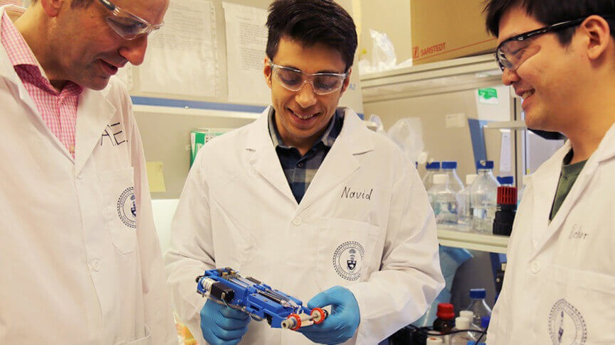 Вчені створили біопринтер, що друкує штучну шкіру на місцях опіків