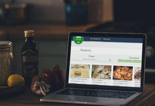Інтернет CookSmart: якісний український кулінарний ресурс зроблено в Україні Їжа стаття