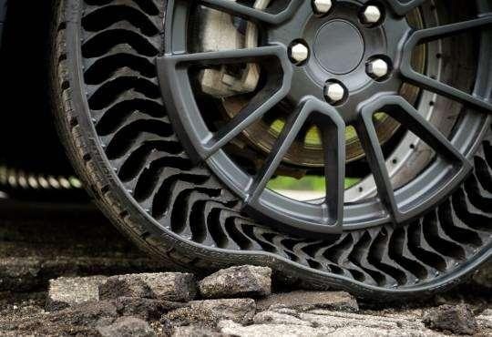 Технології Як влаштовані шини без повітря? авто стаття сша